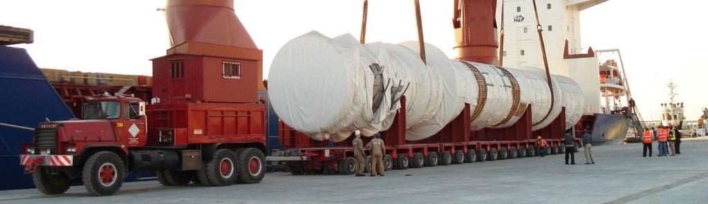 حمل و نقل سنگین با بوژی