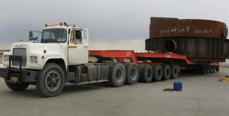 حمل سنگین برای بندرعباس