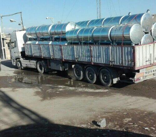 حمل و نقل انواع تانکر با تریلی