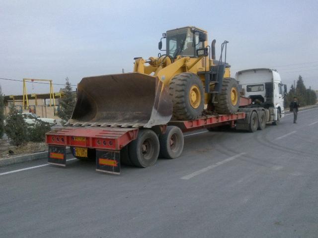 حمل و نقل سنگین با کمرشکن برای استان همدان