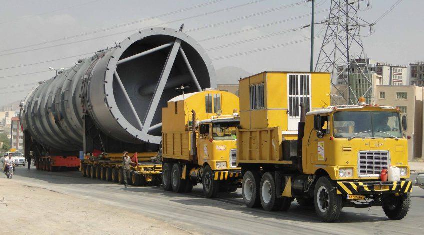 حمل و نقل فوق سنگین بوژی