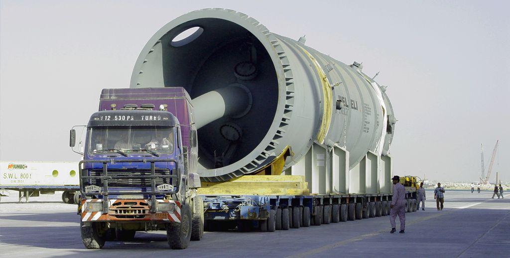 حمل و نقل محموله های ترافیکی فوق سنگین